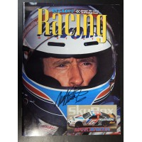 Martin, Mark Signed Beckett Racing Monthly Magazine from December 1994