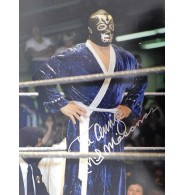 Mascaras, Mil Signed 11x14 Photo.