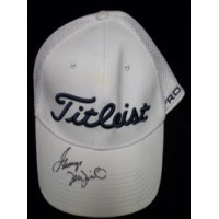 McNeill, George Signed Titleist Hat (Green Stain Above the Logo)