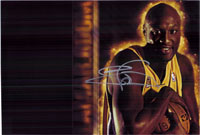 Odom, Lamar (Los Angeles Lakers) Signed 8x12 Photo