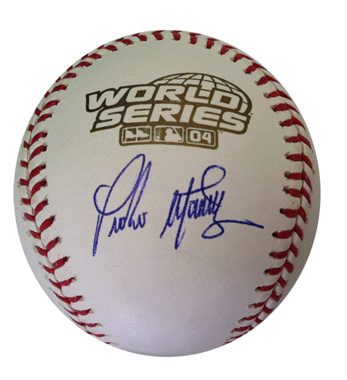 Pedro Martinez Signed Baseball from Powers Autographs