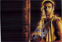 Radmanovich, Vladimir (Los Angeles Lakers) Signed 8x12 Photo (Can Be Cut Down to 8x10)