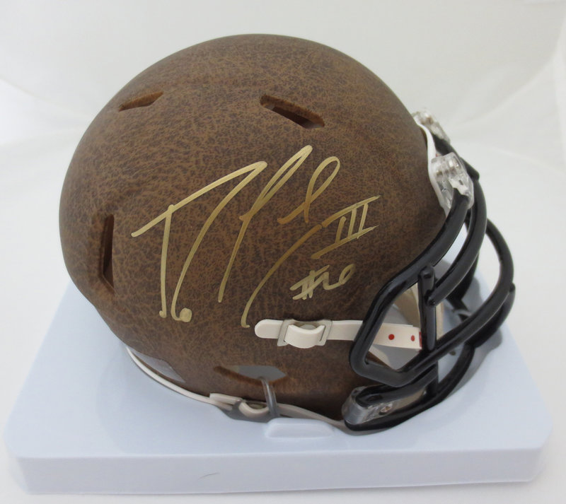 d0ca9972 Robert Griffin Signed Mini Helmet from Powers Autographs