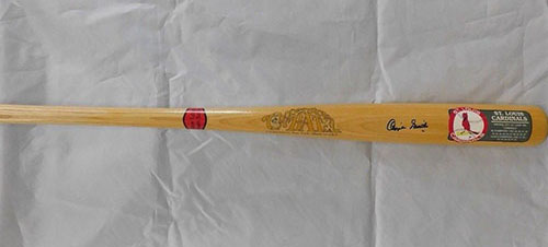 Smith, Ozzie (St. Louis Cardinals) Signed Full Size Cooperstown St. Louis Cardinals Commemorative Baseball Bat. (JSA Authenticated)