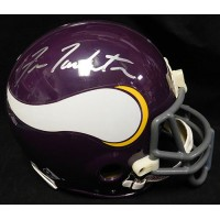 Tarkenton, Fran (Minnesota Vikings) Signed Authentic Full Size Riddell Minnesota Vikings Helmet. (JSA Authenticated)
