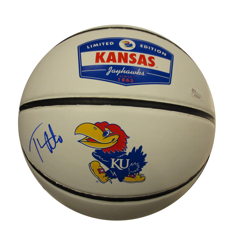 Thomas Robinson Signed Kansas Basketball from Powers Autographs