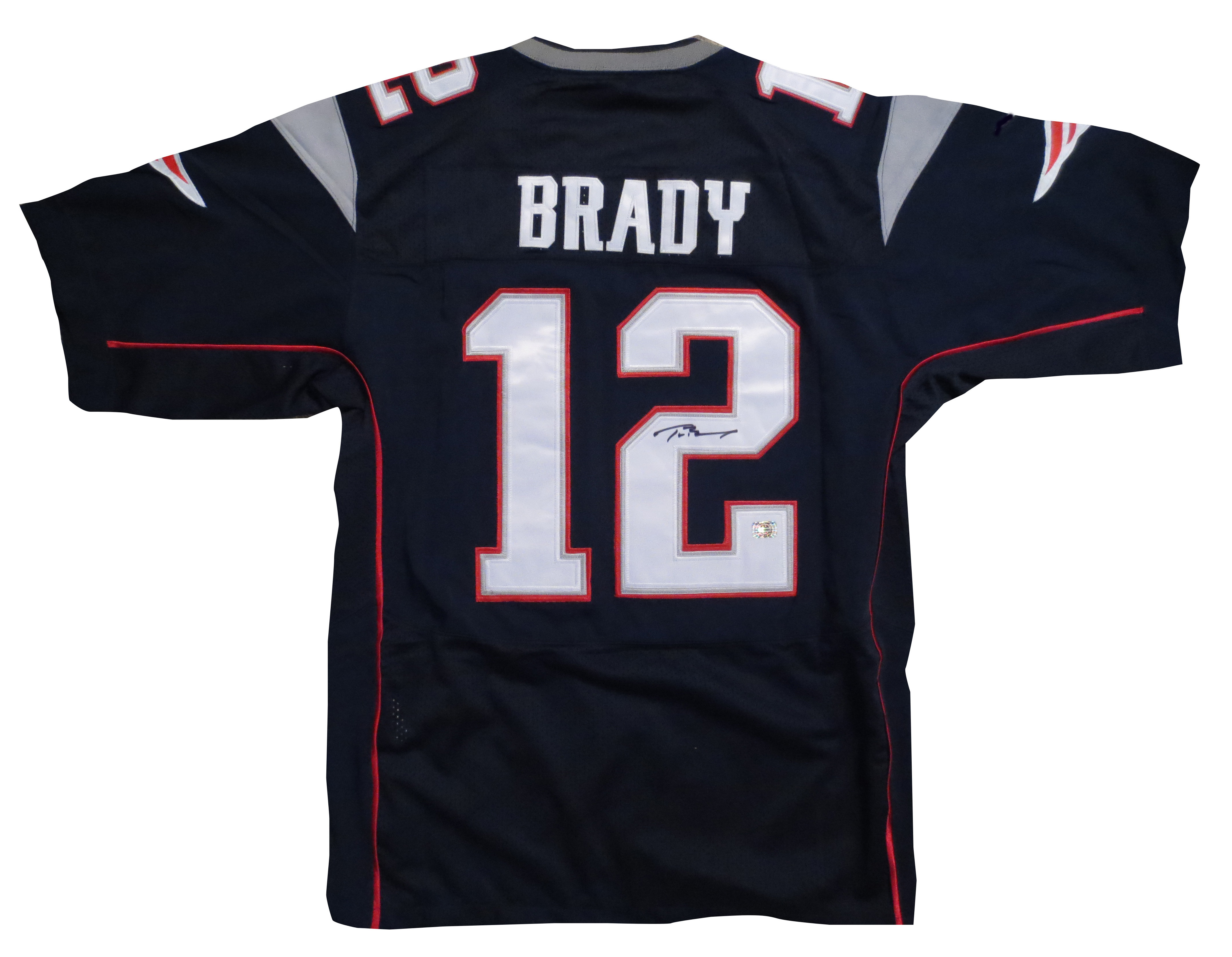 Tom Brady Autographed Patriots Jersey from Powers Autograhs