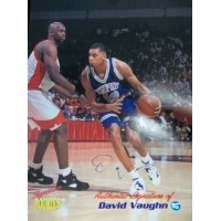 Vaughn, David (Memphis Tigers) Signed 8x10 Ppromo