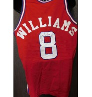 Williams, Brian (Los Angeles Clippers) Signed authentic Los Angeles Clippers jersey size 44 on the back in black ink on the number.