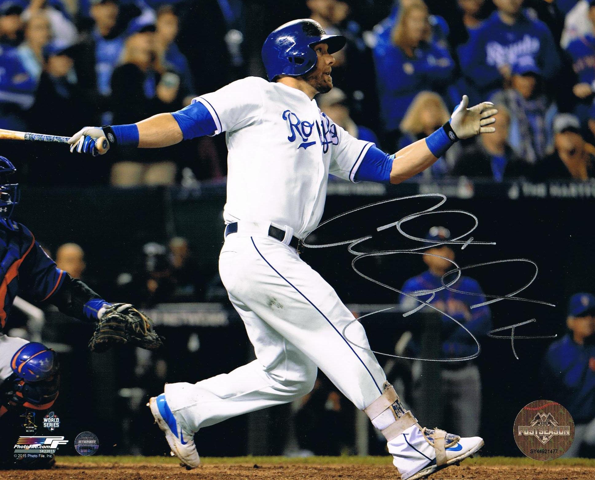 Alex Gordon Autographed Royals 2015 World Series Signed