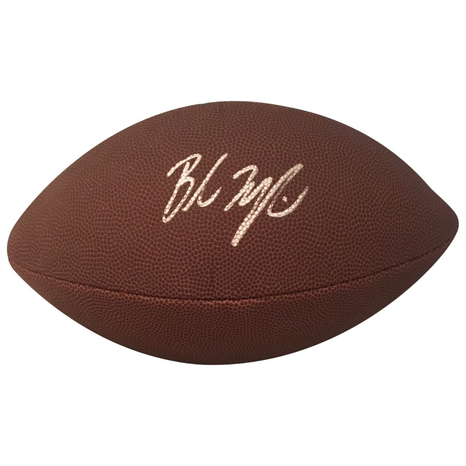 Baker Mayfield Cleveland Browns Oklahoma Sooners Autographed NFL Signed  Football PSA DNA COA 760ffc612
