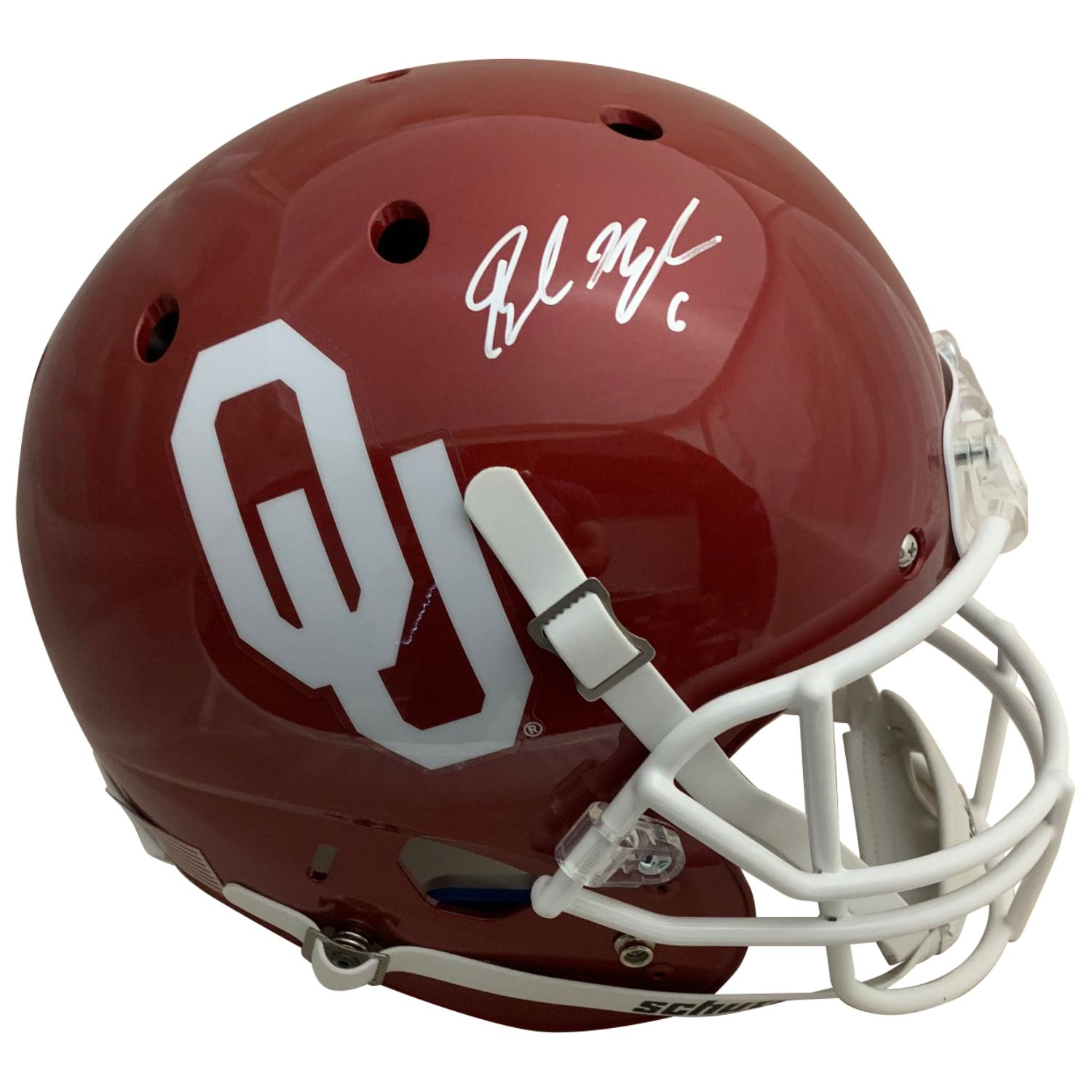 Baker Mayfield Autographed Oklahoma Sooners Signed Football Full Size Helmet PSA DNA COA