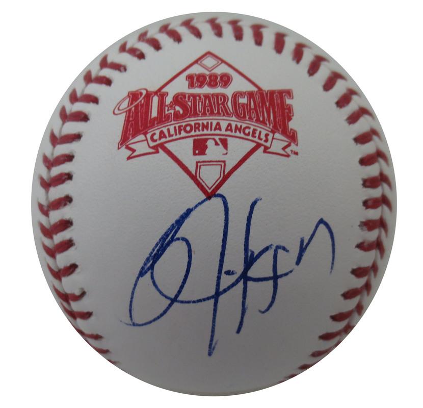 44b02a0ce69 Bo Jackson Autographed 1989 All Star Game Signed Baseball JSA COA 3 ...