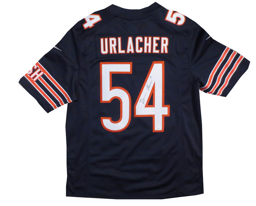 new product 18c0c 51195 Brian Urlacher Signed Chicago Bears Nike Jersey from Powers ...