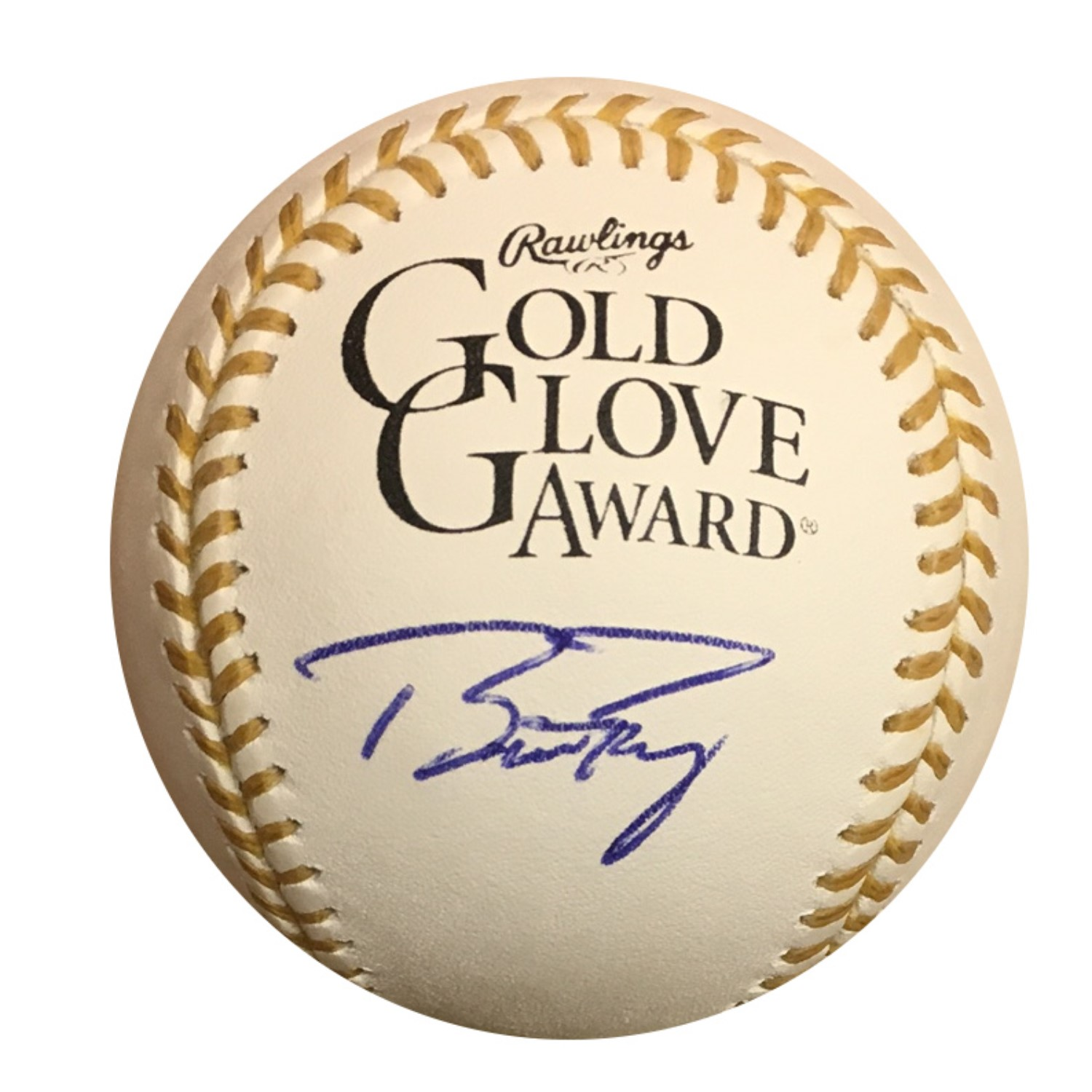Buster Posey Autographed Gold Glove Signed Baseball JSA COA San Francisco Giants superstar Buster Posey has signed this official MLB Gold Glove baseball (Posey has won the award numerous times). Autograph is authenticated by James Spence Authentication (JSA), the world's leading authenticator of sports autographs. Comes with their unique sticker # fixed to the item and verified on their website. Also, comes with their certificate of authenticity with same matching #.  You will receive the EXACT item shown.