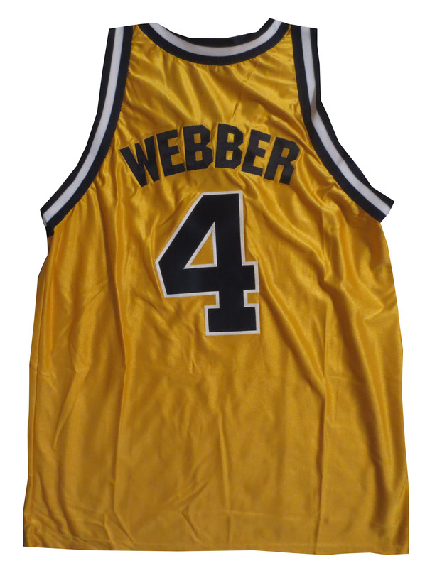 official photos 1908a 6b806 Chris Webber Michigan Jersey from Powers Autographs