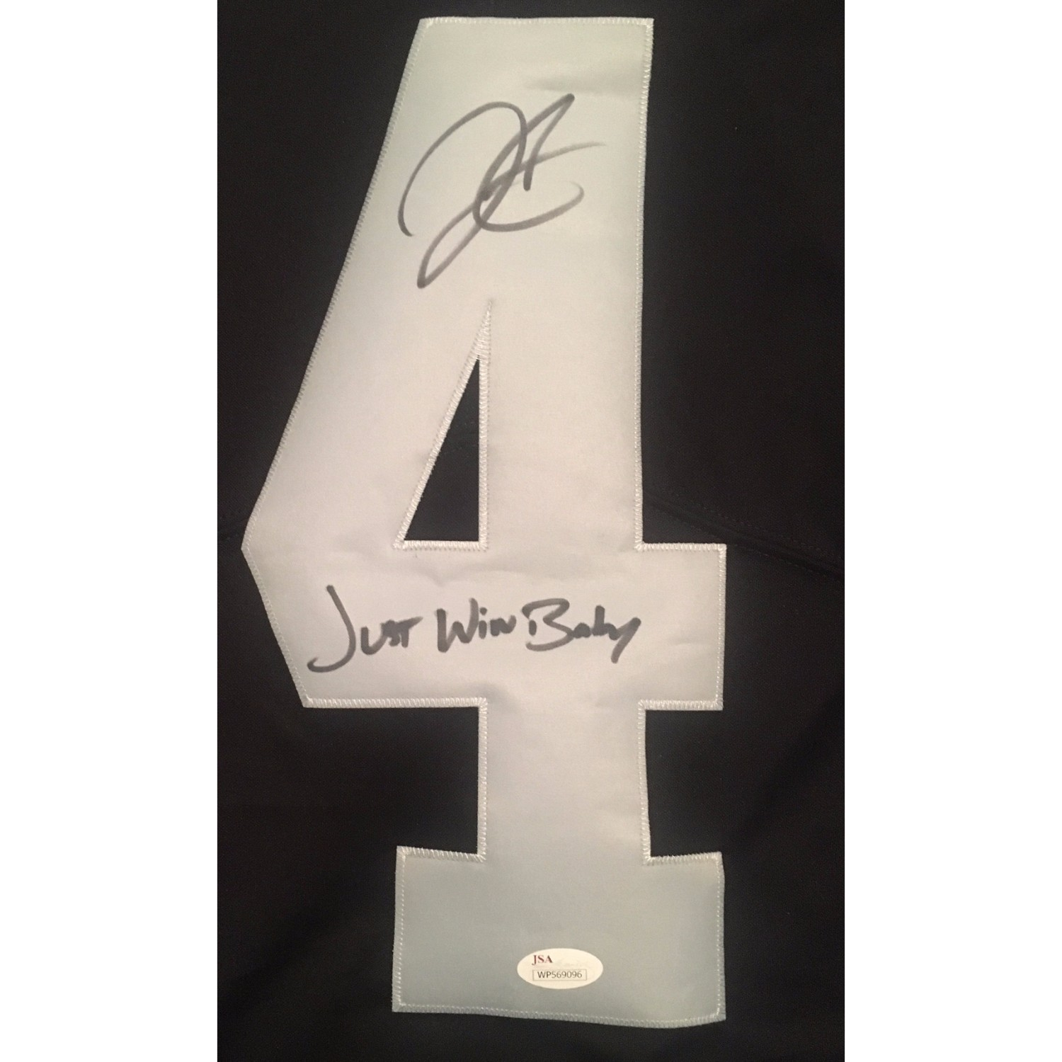 low priced b5b25 c839e Derek Carr Autographed Oakland Raiders Signed Nike Limited ...
