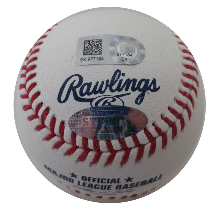 65684ab21d7 Derek Jeter Signed Final Season Baseball from Powers Autographs