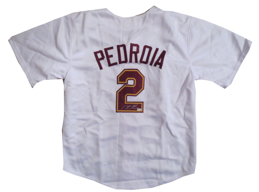 Dustin Pedroia Autographed ASU Arizona State Baseball Signed Jersey MLB COA ac9aab6df2e