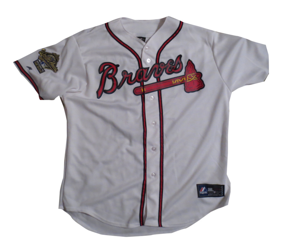 finest selection 03d8f 1c1c4 Greg Maddux Signed Braves Jersey from Powers Autographs