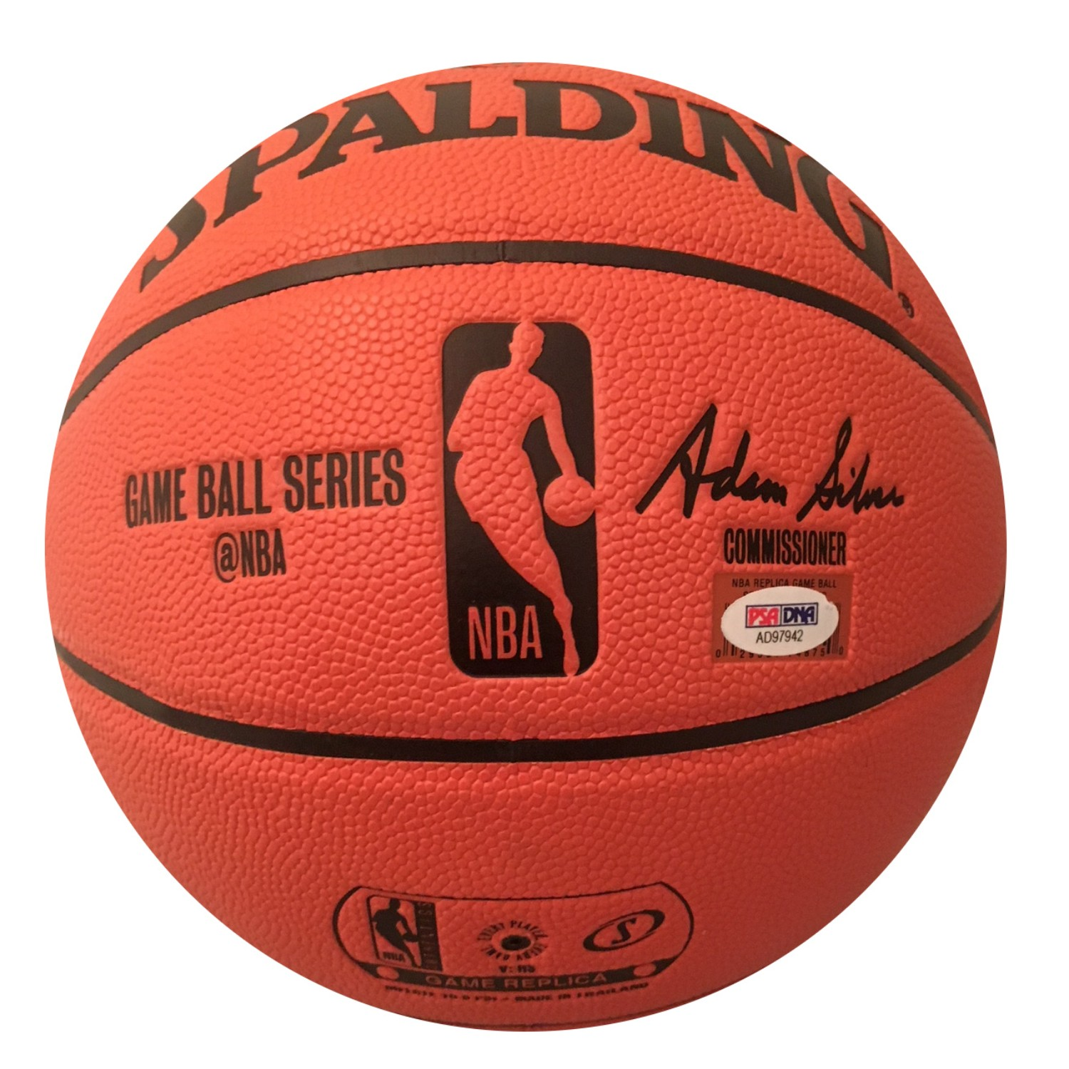 2fb939babee James Harden Houston Rockets Autographed NBA MVP Signed Basketball PSA DNA  COA