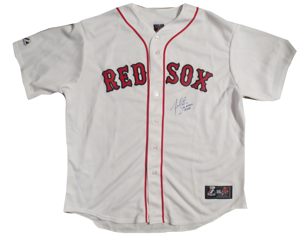 newest d0315 56da1 Jon Lester Autographed Boston Red Sox Signed Baseball Jersey ...
