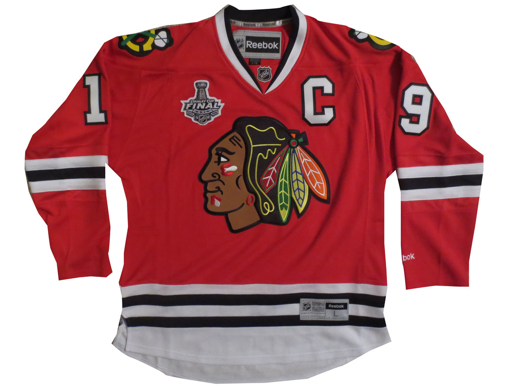 Jonathan Toews Signed Blackhawks Jersey from Powers Autographs