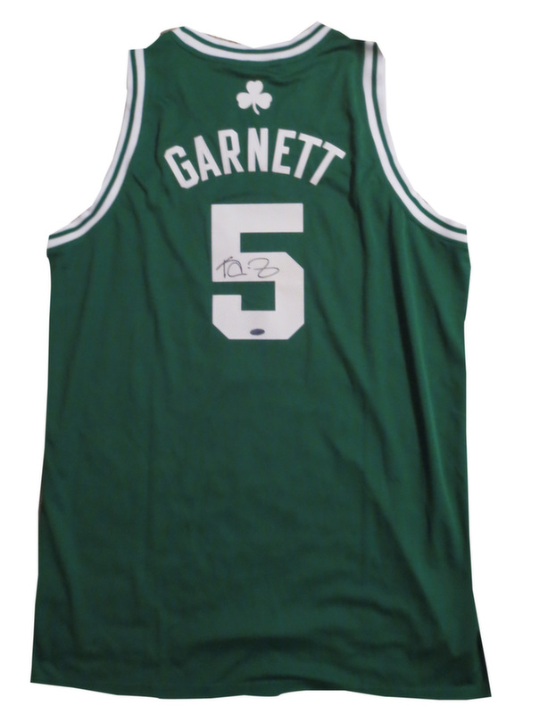 new arrival 4b7c0 8ebfd Kevin Garnett signed Celtics jersey from Powers Autographs