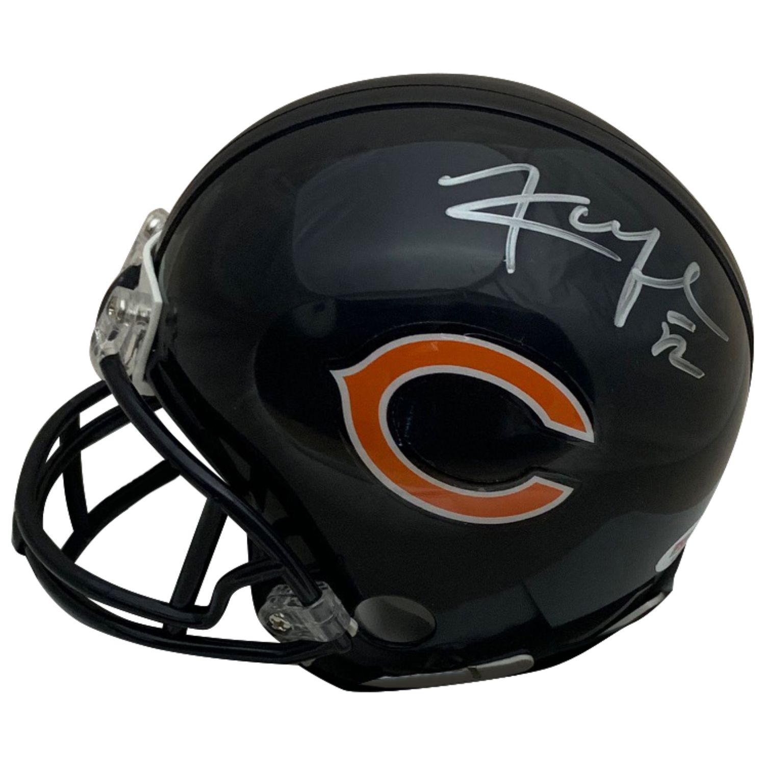 the latest c7039 df43d Khalil Mack Autographed Chicago Bears Signed Football Mini ...