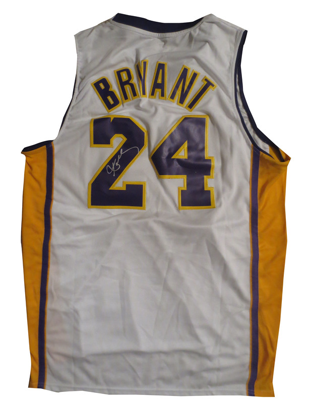 ... Kobe Bryant Autographed Lakers Signed Basketball Jersey ... 988a3ea4f