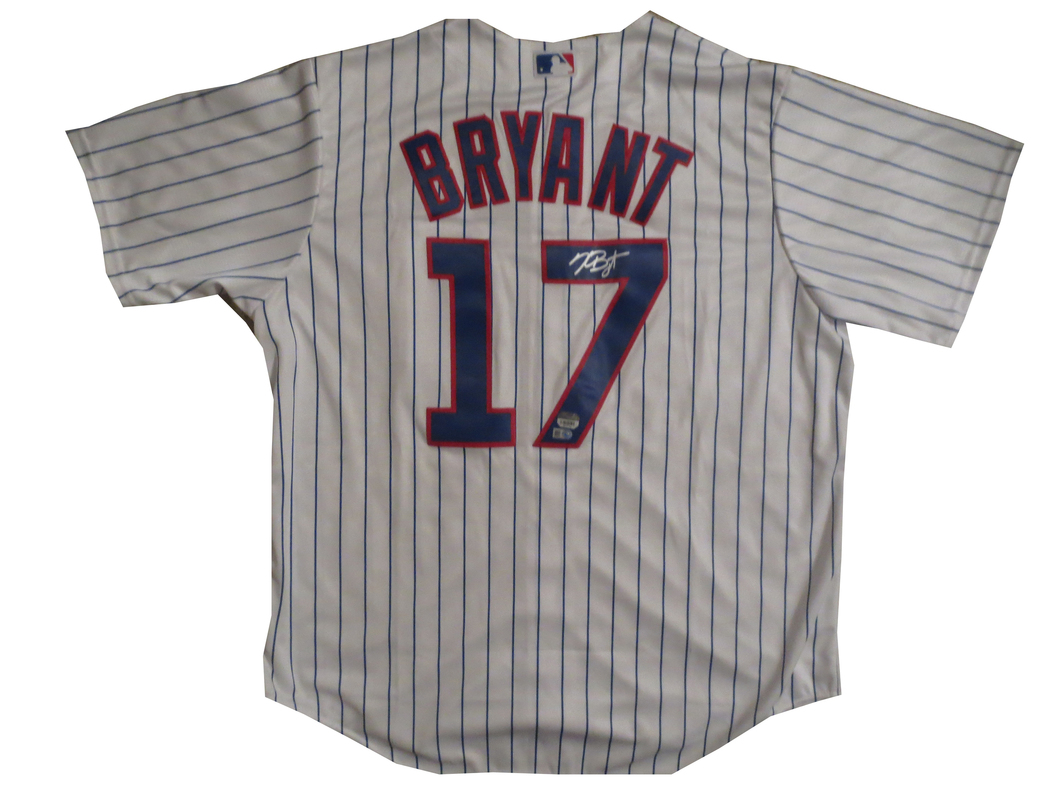buy popular 0a57c ca670 Kris Bryant Signed Cubs Jersey from Powers Autographs