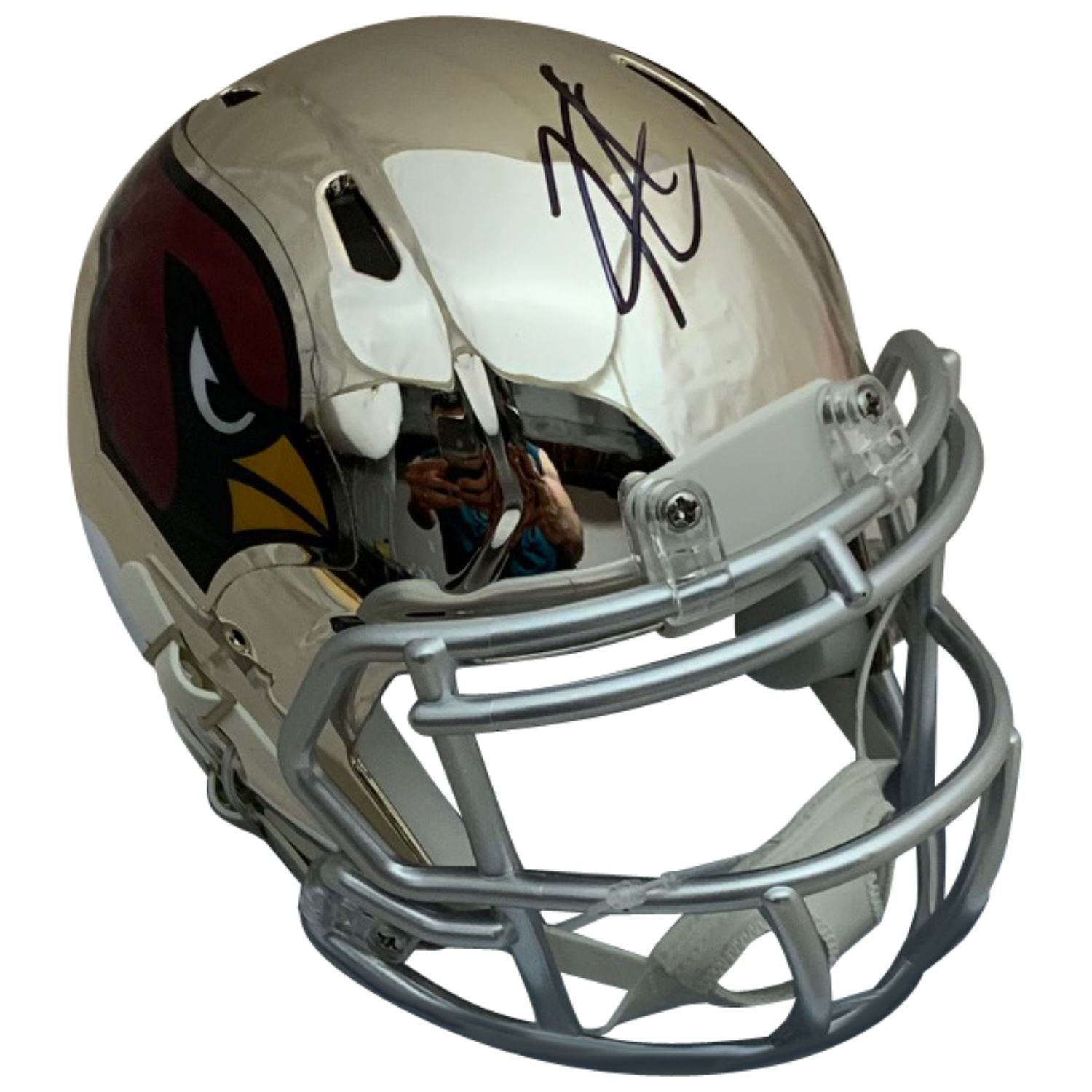 Kyler Murray Autographed Arizona Cardinals Signed Chrome Football Mini Helmet PSA DNA COA