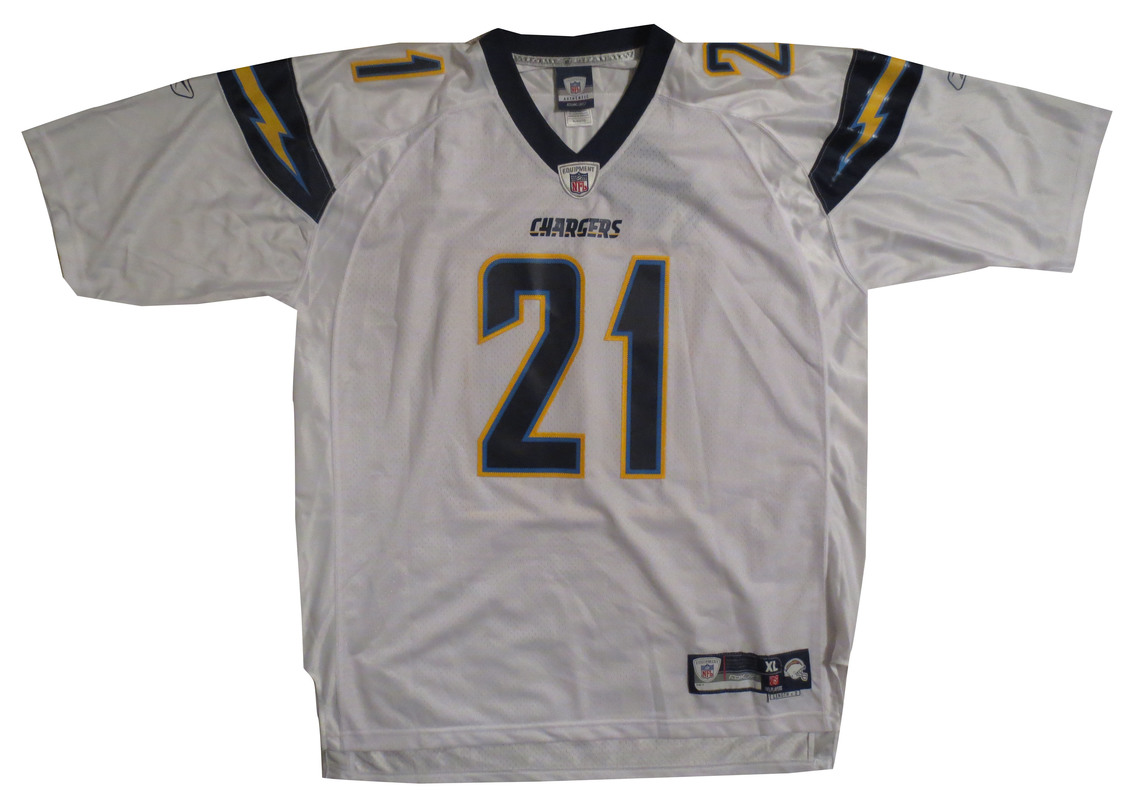 lowest price c4078 1f993 LaDainian Tomlinson Autographed Chargers Authentic Signed ...