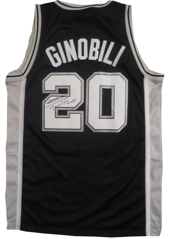 half off f21cb 7d413 Manu Ginobili Signed Jersey from Powers Autographs