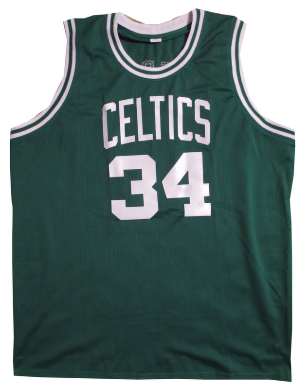 Paul Pierce Signed Celtics Jersey from Powers Autographs