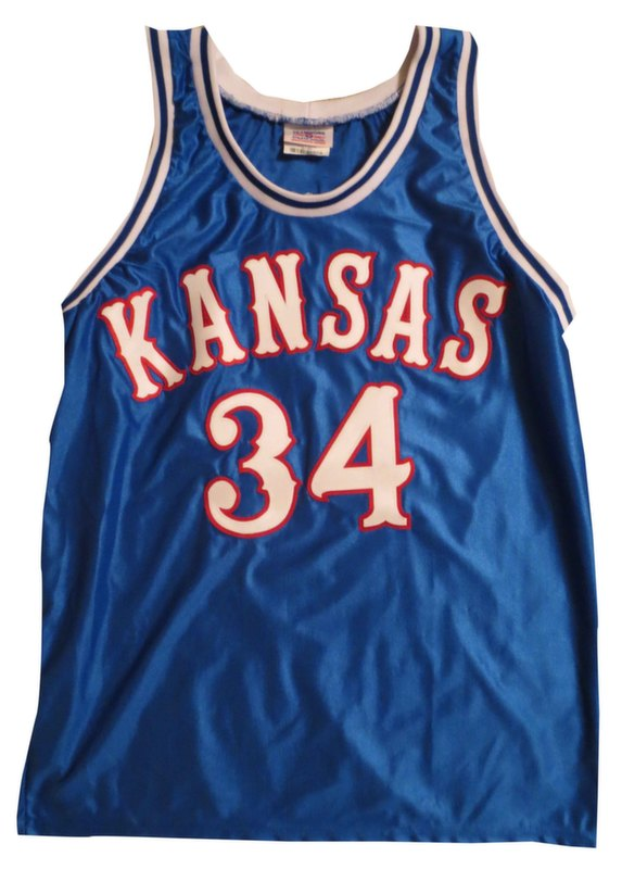 Paul Pierce Signed Kansas Jersey from Powers Autographs