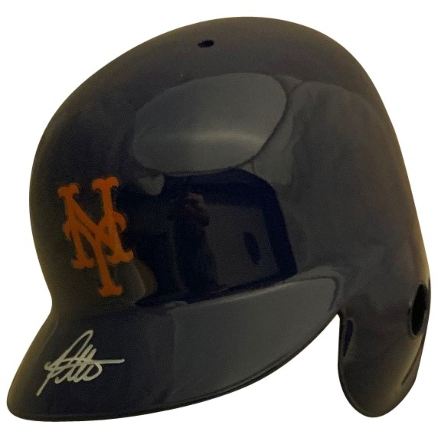 Pete Alonso Autographed New York Mets Signed Baseball Full Size Batting Helmet PSA DNA COA