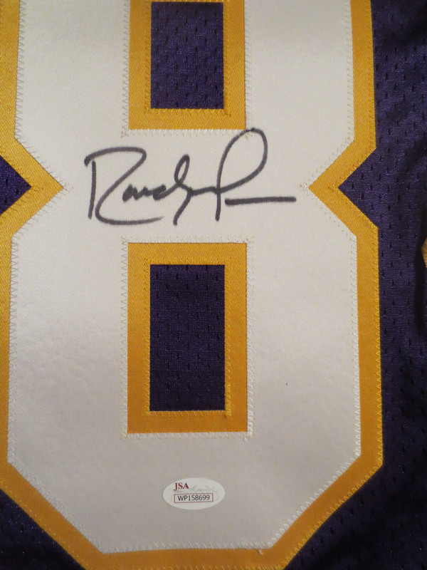 sale retailer 1d44e 79032 Randy Moss Autographed Minnesota Vikings Signed Authentic ...