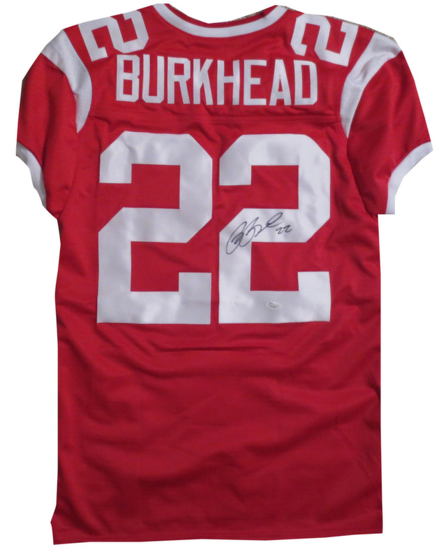 New Rex Burkhead Signed Nebraska Jersey from Powers Autographs  for cheap