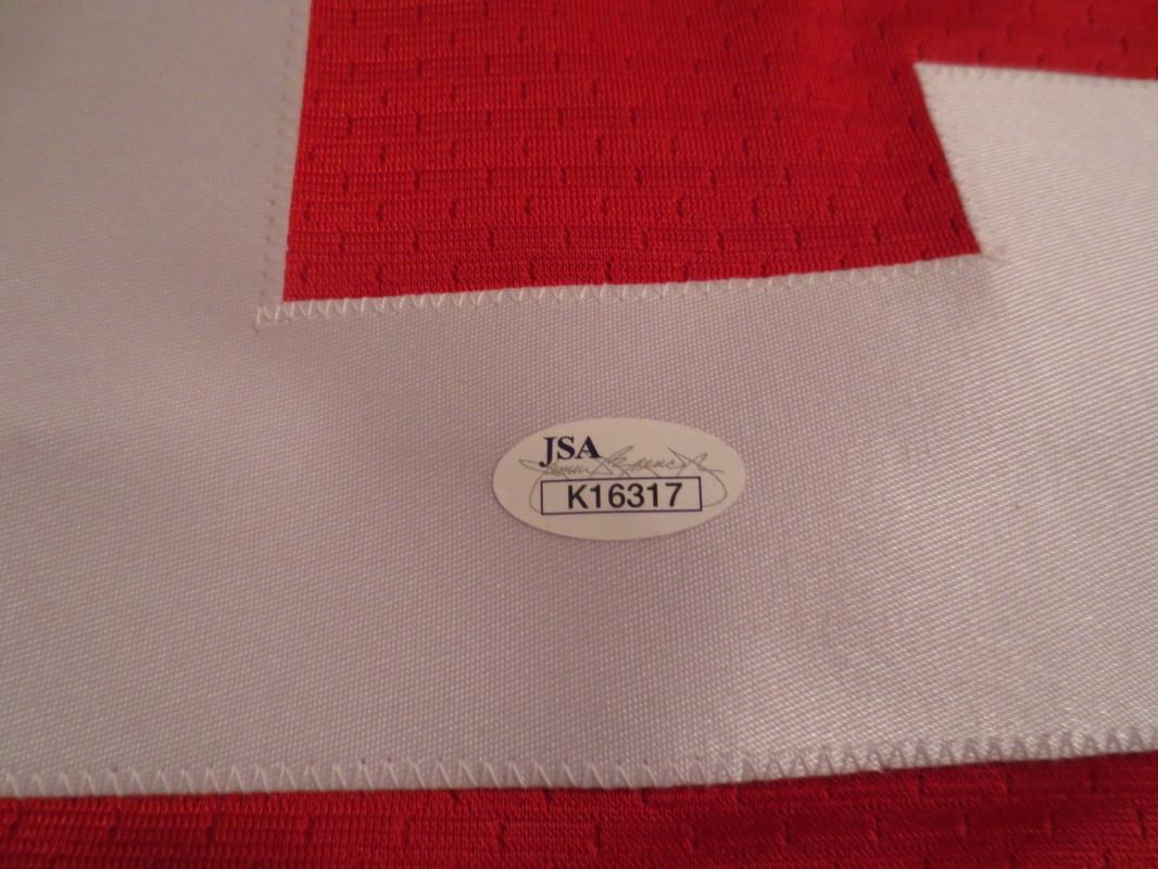 best service 99d44 1ecbd Rex Burkhead Signed Nebraska Jersey from Powers Autographs