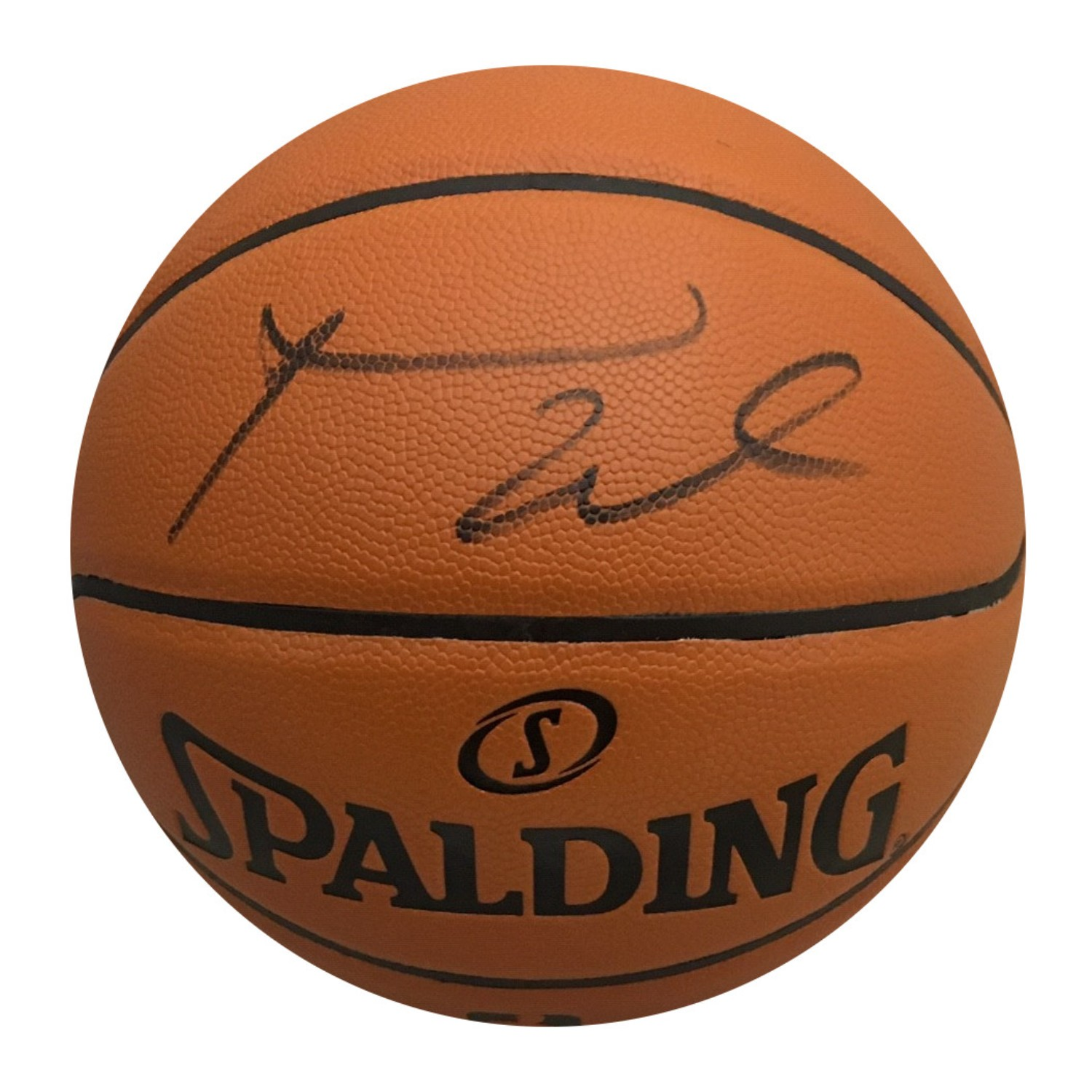Russell Westbrook Oklahoma City Thunder Autographed NBA Signed Basketball PSA DNA COA