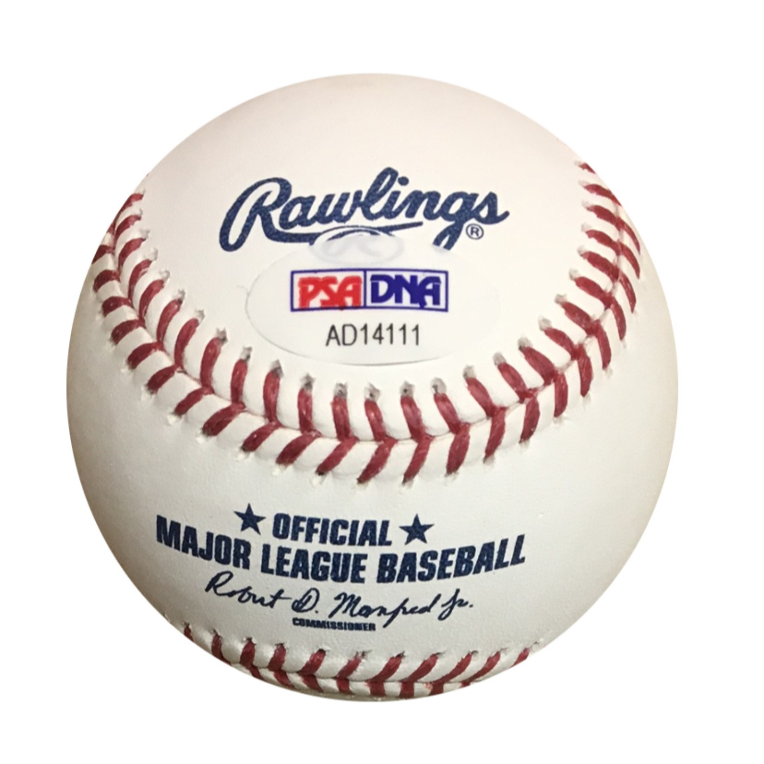 Salvador Perez Autographed MLB Authentic Signed Baseball PSA DNA COA Royals superstar Salvador Perez has signed this official MLB baseball.  Autograph is authenticated by PSA/DNA, the world's leading authenticator of sports autographs. Comes with their unique sticker # fixed to the item and verified on their website. Also, comes with their certificate of authenticity with same matching #. You will receive the EXACT item shown.