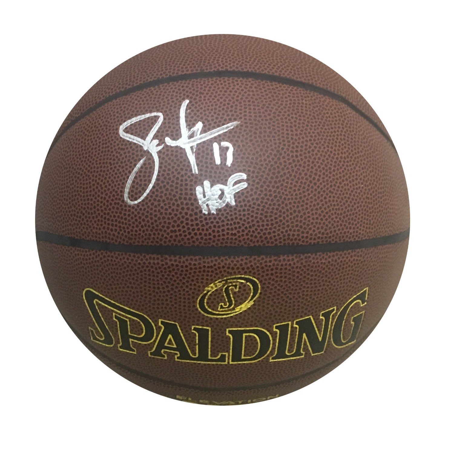 Steve Nash Phoenix Suns Hall of Fame HOF Autographed NBA Signed Basketball JSA COA 4