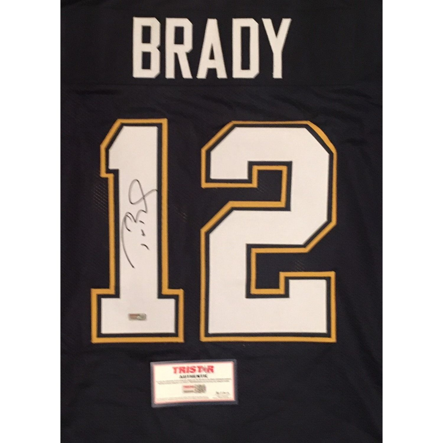 Tom Brady Signed Serra High School Jersey from Powers Autographs