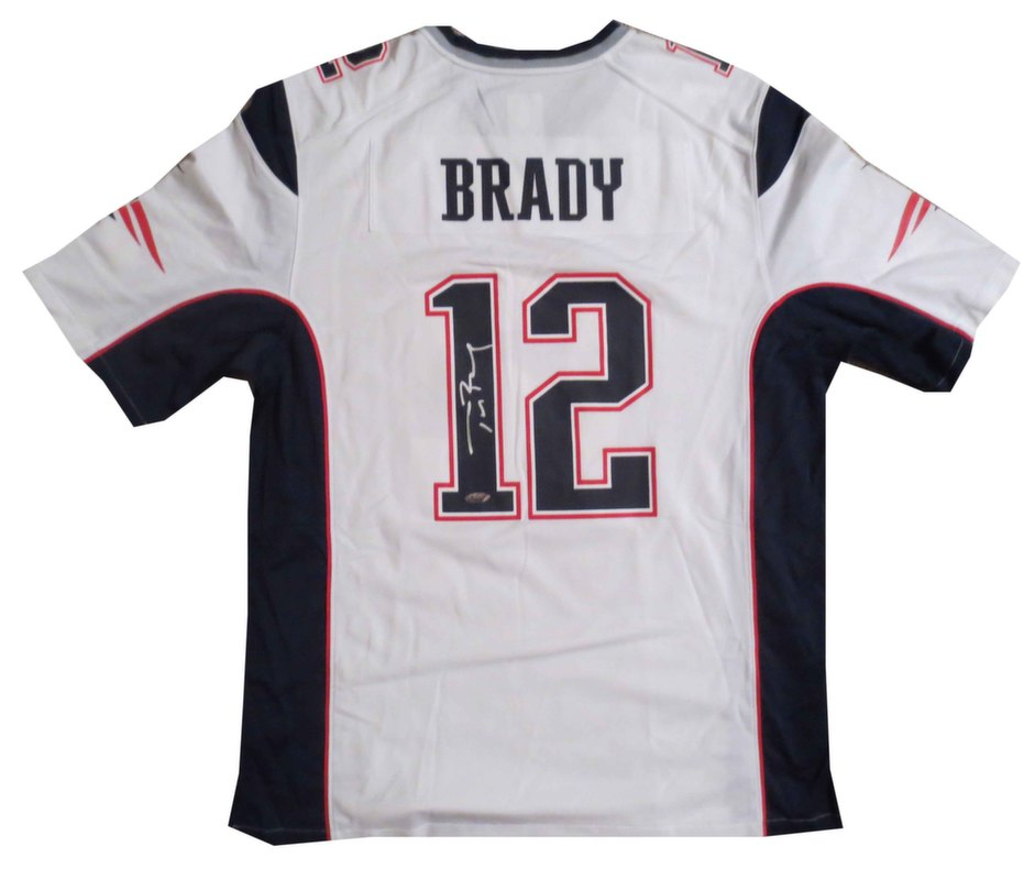 tom brady unsigned jersey