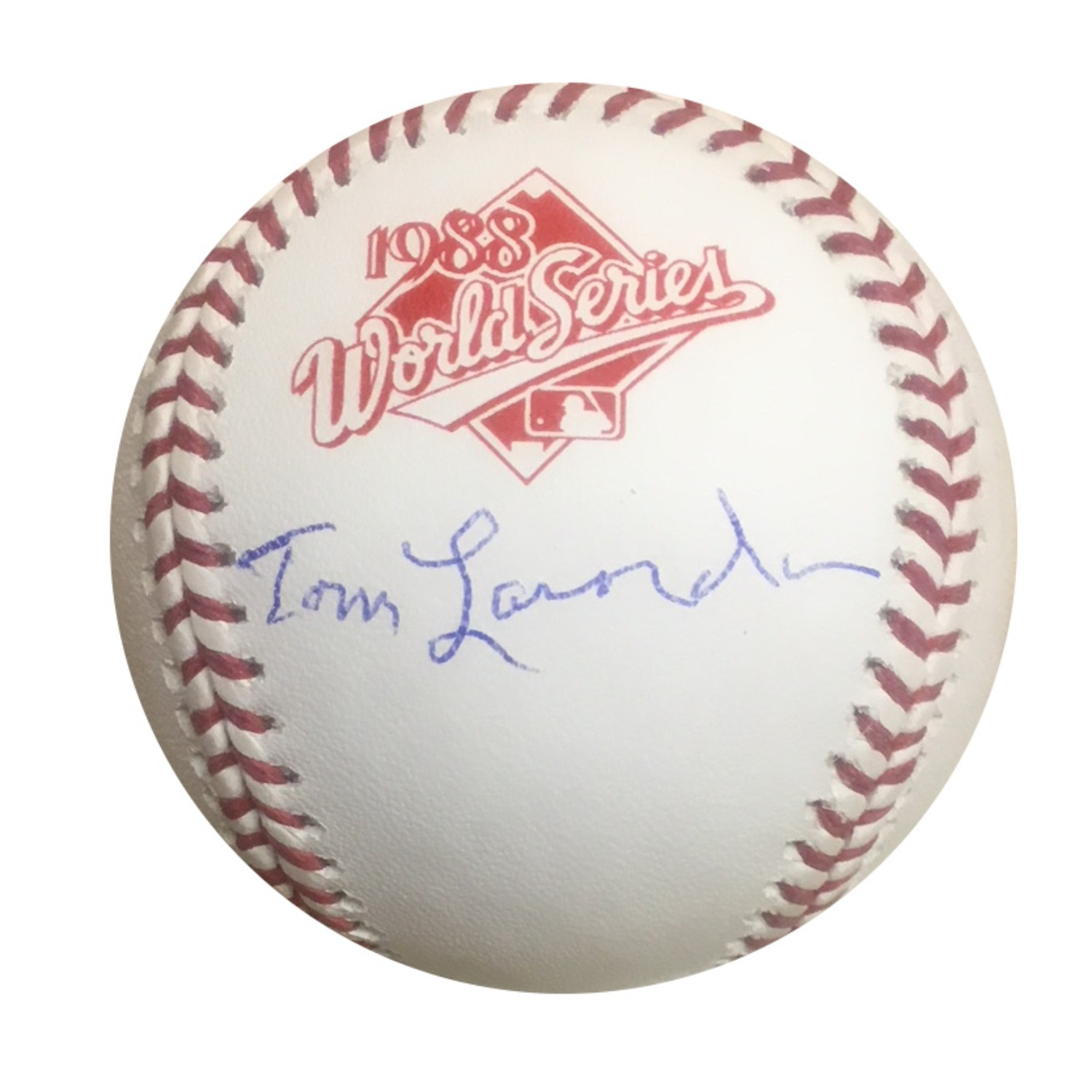Tommy Lasorda Los Angeles Dodgers Autographed 1988 World Series Signed Baseball JSA COA