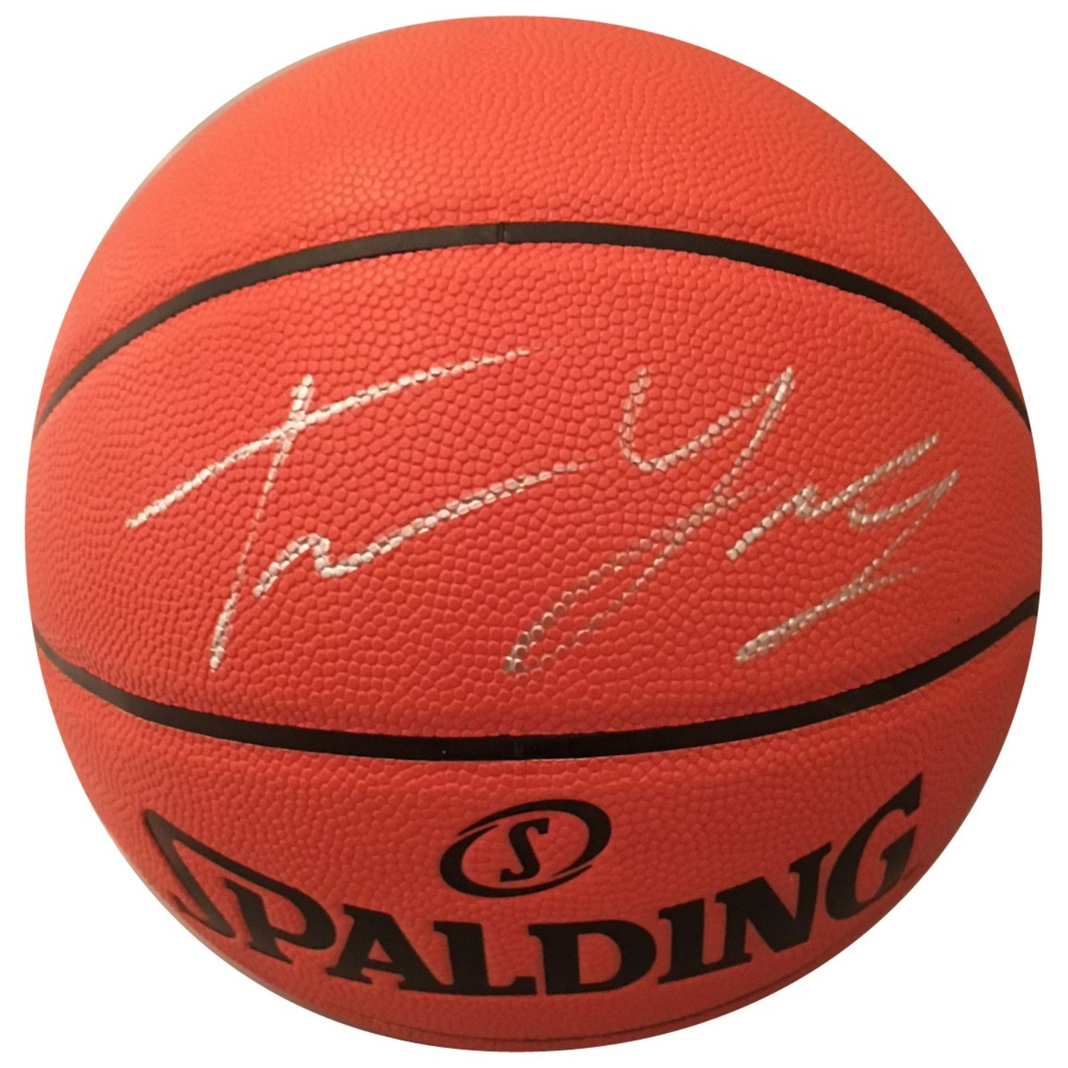 Trae Young Oklahoma Sooners Autographed NBA Signed Basketball PSA DNA COA