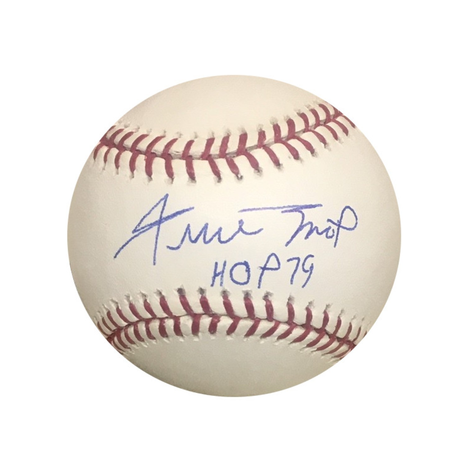 Willie Mays San Francisco Giants Autographed Hall of Fame HOF 79 Signed Baseball Beckett BAS COA