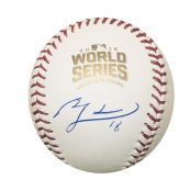 13180611ec2 Ben Zobrist Autographed Chicago Cubs 2016 World Series Signed Rawlings Baseball  JSA COA With UV Disp