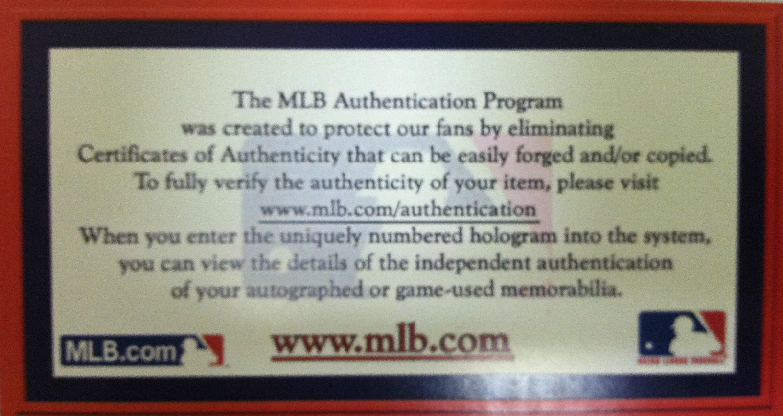 Powers Autographs proudly sells authentic sports autographs from MLB.